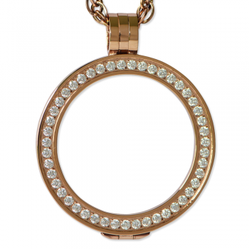 Rose Gold Luxe Pendant
