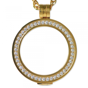 Yellow Gold Luxe Pendant